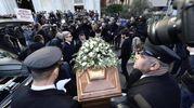Folla e commozione ai funerali di Gualtiero Marchesi (foto Ansa)