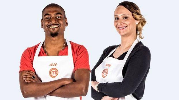 Jose (a sinistra) e Denise di Masterchef 7