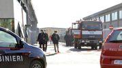 Il giorno dopo l'incendio di Porcari (Foto Alcide)