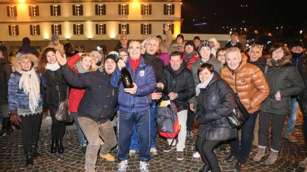 Capodanno in piazza Garibaldi a Sondrio