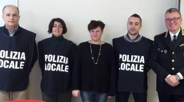 Da sinistra Andrea De Grandis, Patrizia Rosito, Sara Casanova, Onofrio Naso, Fabio Germanà