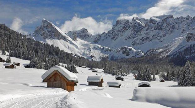 Uno scorcio delle Dolomiti