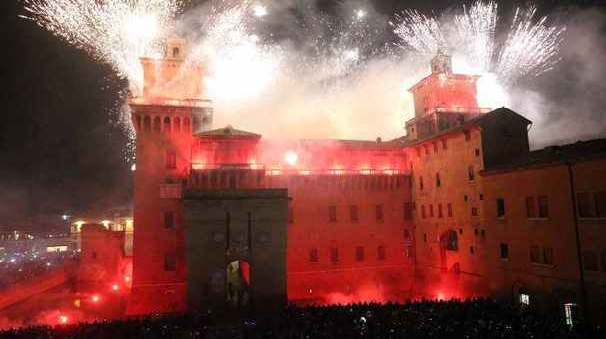 L'incendio al Castello