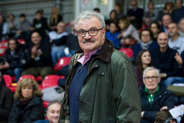 L'allenatore della Nazionale Romeo Sacchetti