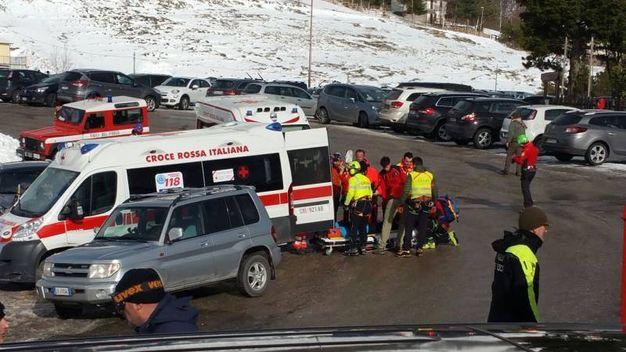 Bolognola, salvate le due persone sommerse dalla neve dopo la slavina