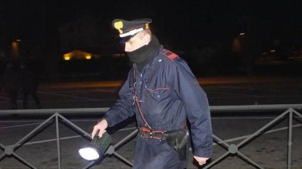 I carabinieri hanno soccorso l'anziana