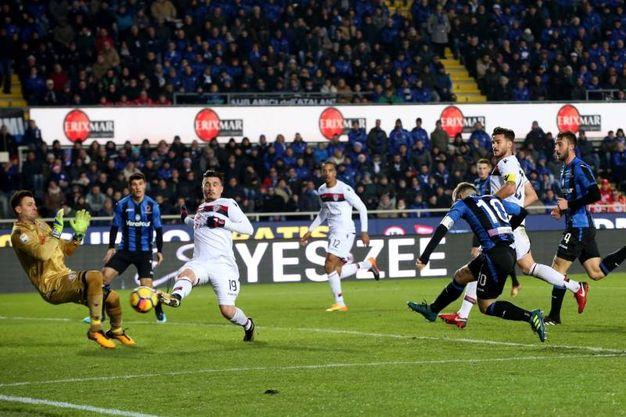Atalanta-Cagliari 1-2, Gomez (Lapresse)