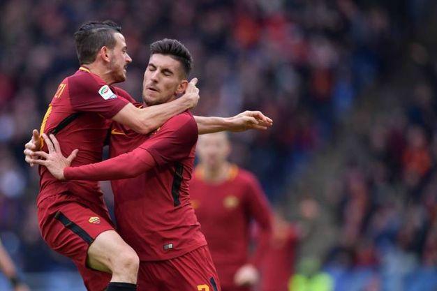 Roma-Sassuolo 1-0, Pellegrini (LaPresse)