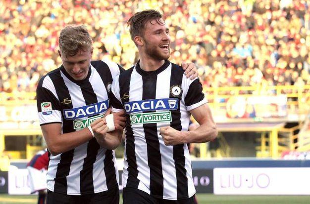 Bologna-Udinese 1-1, Widmer (Ansa)