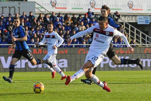 Atalanta-Cagliari 0-2, Padoin (Ansa)