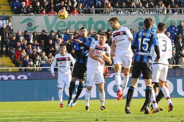 Atalanta-Cagliari 0-1, Pavoletti (Ansa)