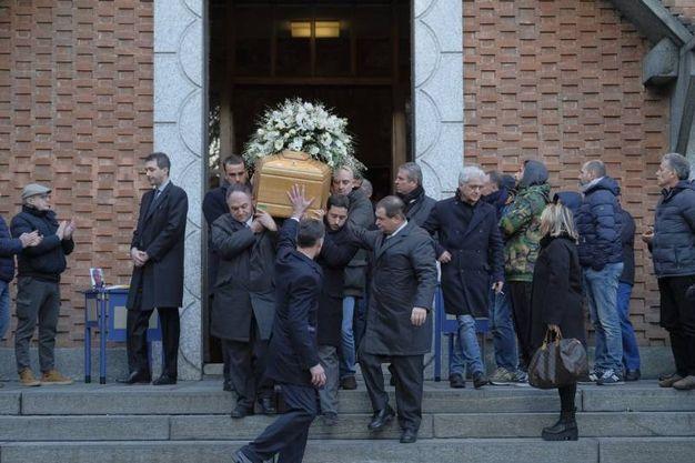 Funerali dell'ex calciatore Andrea La Rosa