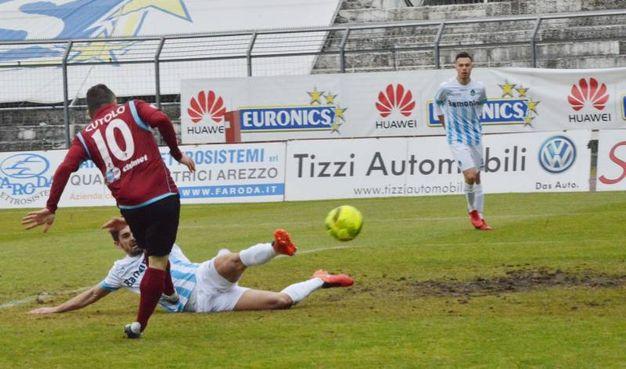Arezzo-Giana Erminio 4-2, le foto della partita (Tavanti)
