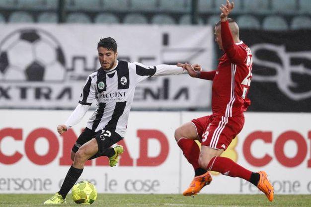 Siena-Pisa 0-0, le foto della partita (Di Pietro)