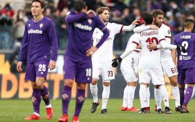 Le emozioni di Fiorentina-Milan (LaPresse)