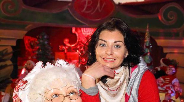 Camilla Carnesecchi, titolare della Casa di Babbo Natale