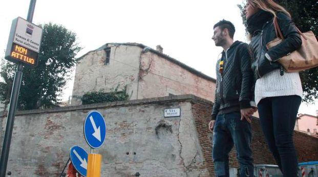 Cesena, uno dei varchi d'accesso al centro (Ravaglia)