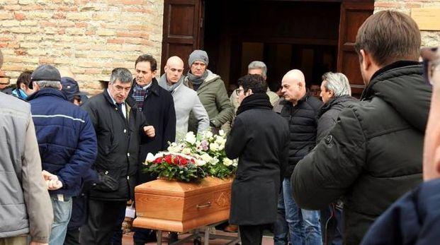Il funerale di Giovanna Rondinelli (foto Scardovi)