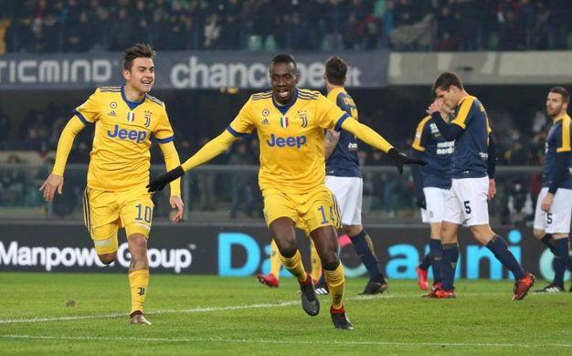 Verona-Juve 0-1, Matuidi (Ansa)
