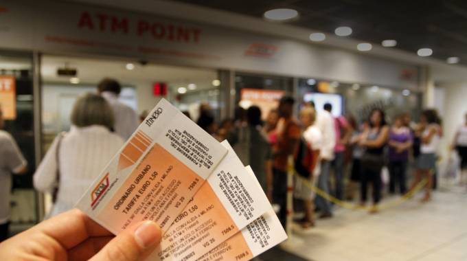 Aumento biglietti di Atm