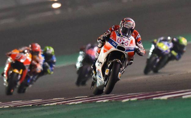 Secondo in Qatar nella prima prova del Motomondiale 2017 (LaPresse)