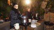 Presepe vivente con rievocazione dei mestieri storici nel borgo di Nocchi a Camaiore (foto Umicini)