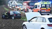 Due persone sono rimaste ferite in modo grave (foto Migliorini)