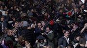 La festa a Siena (Foto Lazzeroni)