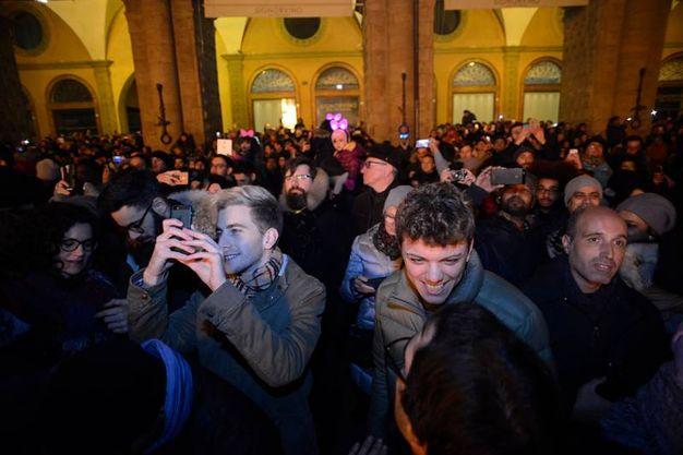 I selfie si sprecano (Foto Schicchi)
