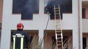 Incendio al residence I Crespi