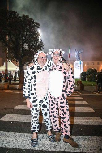 Festa a Empoli in piazza della Vittoria (foto Tommaso Gasperini/Germogli)