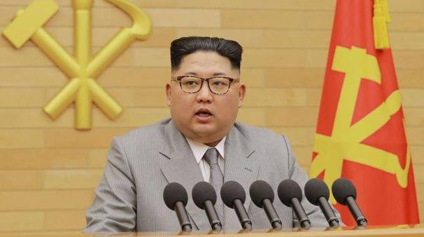 Il discorso di fine anno di Kim Jong-un (Afp)