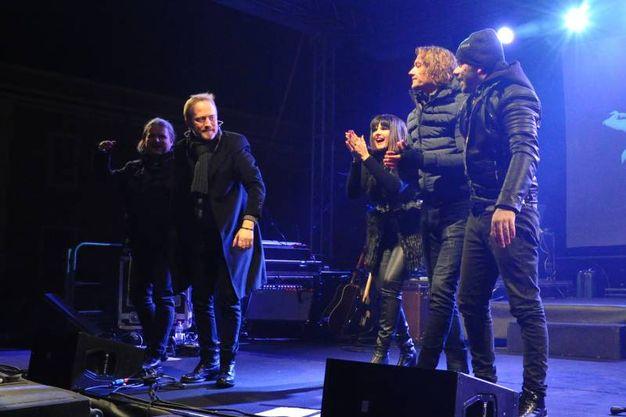 Sul palco (FotoFiocchi)