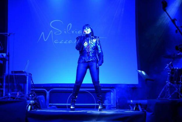 Silvia Mezzanotte sul palco (FotoFiocchi)
