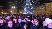 La piazza gremita (Fotoprint)