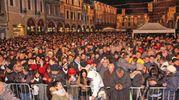 Un Capodanno ricco di musica e spettacolo a Cesena (foto Ravaglia)