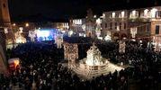 La splendida cornice di Piazza del Popolo (foto Ravaglia)