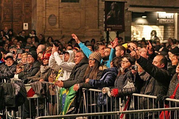 La storica musica italiana in piazza del Popolo (foto Ravaglia)
