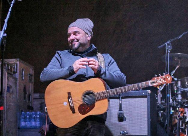 I Nomadi a Cesena per festeggiare con le loro storiche canzoni (foto Ravaglia)