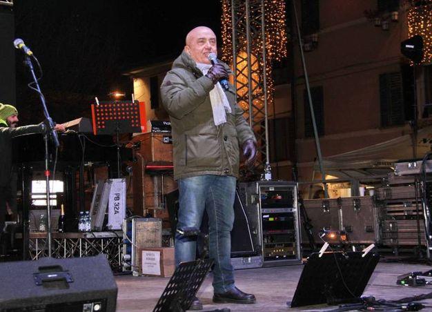 L'esibizione di Paolo Cevoli (foto Ravaglia)