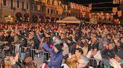 I festeggiamenti in piazza del Popolo (foto Ravaglia)