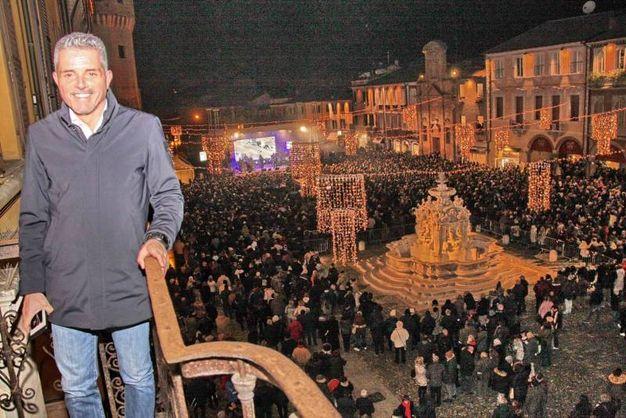 Paolo Lucchi dal suo ufficio (foto Ravaglia)