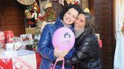 """Caterina Ceccuti durante un'iniziativa ddegli """"Amici di Sofia"""" (New Press Photo)"""