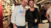 Guido De Barros con Nek, testimonial della Fondazione Voa Voa (New Press Photo)
