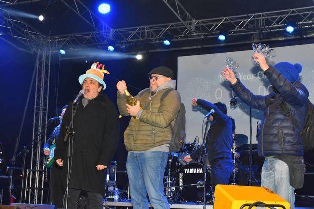 3, 2, 1 auguri per il nuovo anno (foto Artioli)
