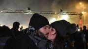 Il bacio della mezzanotte (foto Artioli)