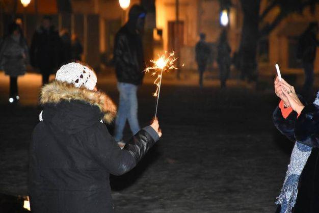 L'arrivo del nuovo anno (foto Artioli)