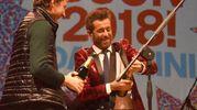 Daniele Silvestri sul palco (Foto Migliorini)