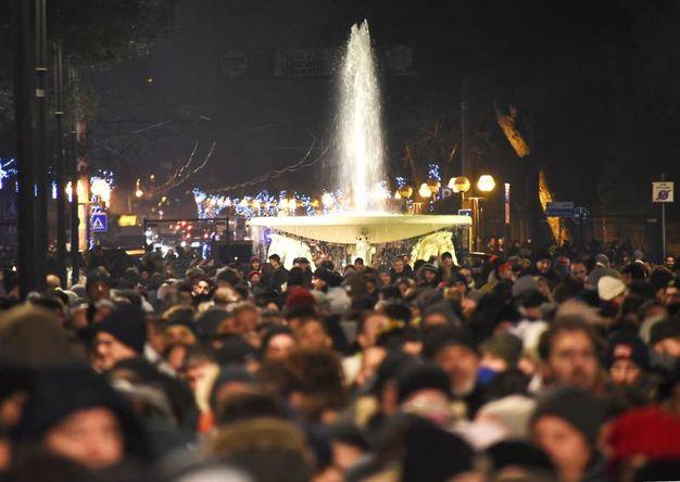 Bagno di folla a Rimini (foto Migliorini)