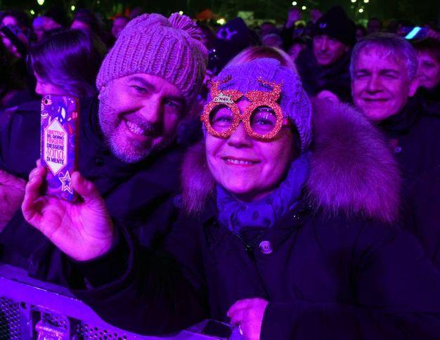 Selfie di Capodanno (Foto Migliorini)